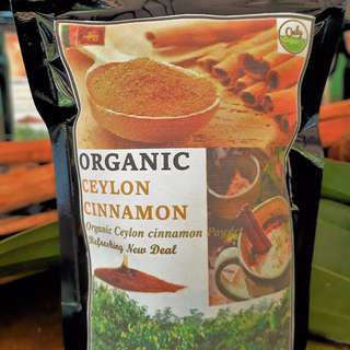 Pure Organic Ceylon Cinnamon Powder