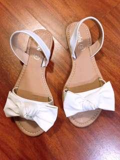 Cotton on's white sandals