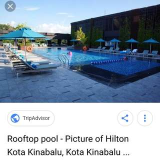 Hilton Kota Kinabalu Discount (with Breakfast & Executive Lounge access)