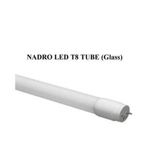 Nadro LED T8 Glass Tube 10W (2ft)