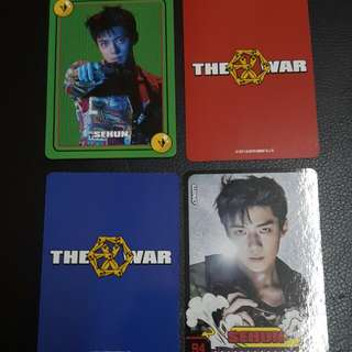 EXO Sehun Matching Cards