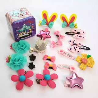 Hair Accessories (Hair Clips/Hair Ties)