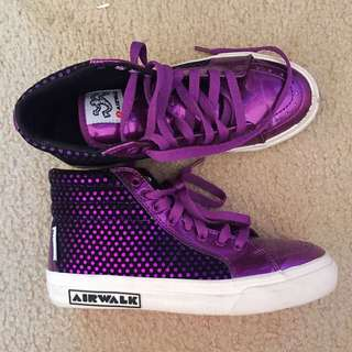 Purple Sneakers