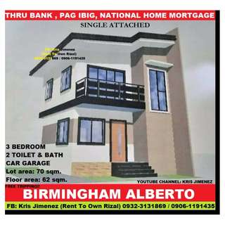Norwich at birmingham alberto fully finished single attached in san mateo rizal