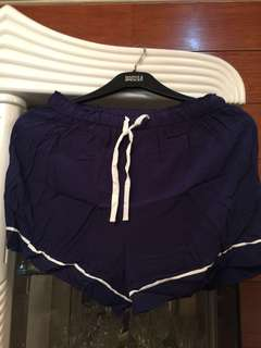 Miniso Navy Pajama shorts (FREE SHIPPING WITHIN METRO MANILA)