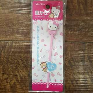 Brand New Authentic Sanrio Hello Hello Kitty Ear Cleaner From Japan