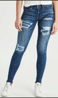 American eagle jeans 100%real