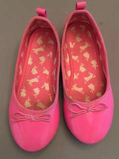 H&M Candy Pink Doll Shoes (FREE SHIPPING WITHIN METRO MANILA)