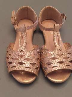 Pretty Glittery Rose Gold Shoes (FREE SHIPPING WITHIN METRO MANILA)