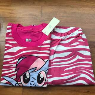 My Little Pony pajamas For Age 3-7 yrs Old