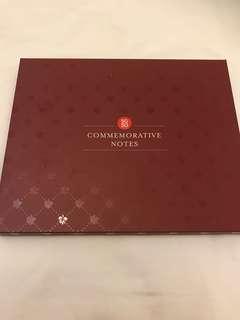 SG50 Commemorative Notes Folder