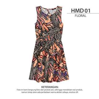 Dress H&M flowy Pantai
