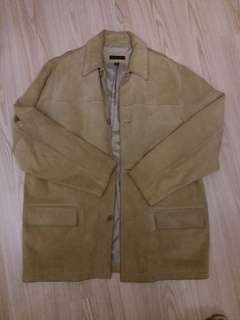 Banana Republic suede coat 猄皮大褸