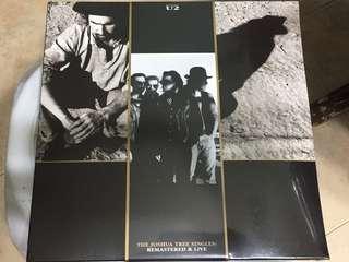"Sealed - U2 the Joshua Tree 7"" Vinyl singles (4 Vinyl singles)"