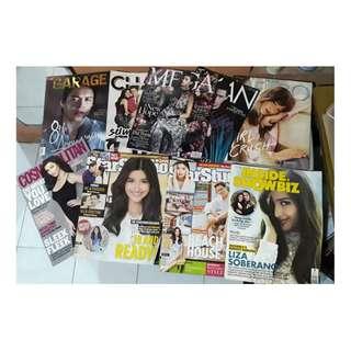 BUNDLE OR PER PIECE Preloved LizQuen/Liza Soberano Magazines