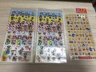 日本Disney 貼紙