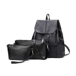 3 in1 backpack black