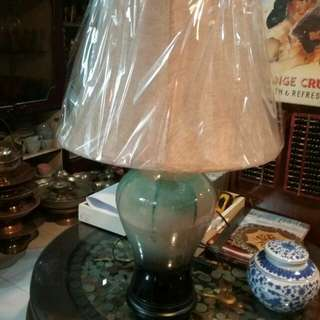 Table lamp porselin china A2