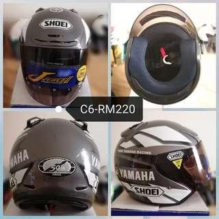 Shoei yamaha jf2 grey