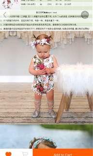 Baby Pom Pom Romper