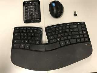 Microsoft Sculpt Desktop - Keyboard and Mouse