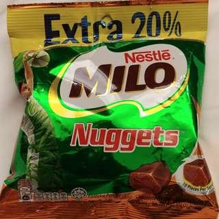 Milo Nuggets from Malaysia