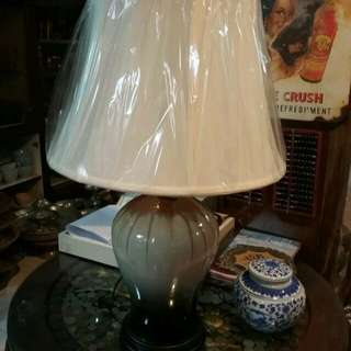 Table lamp porselin china A3