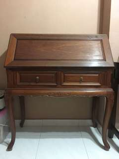 Rose wood study desk (antique)
