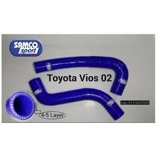 SAMCO Radiator Hose - Toyota Vios 03 NCP42