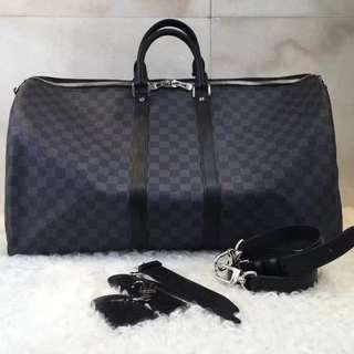 Lv damier travel bag ( unisex)