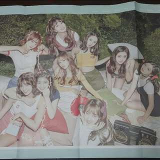 TWICE Twicetagram folded poster