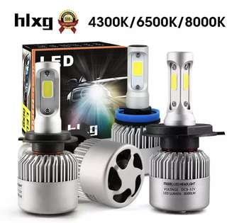 HLXG Auto Headlight LED Bulb