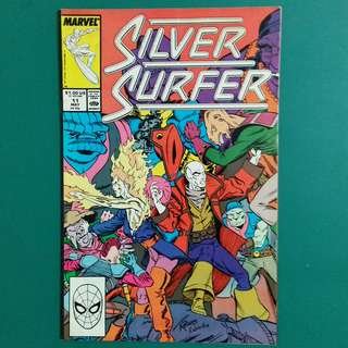 Silver Surfer No.11 comic