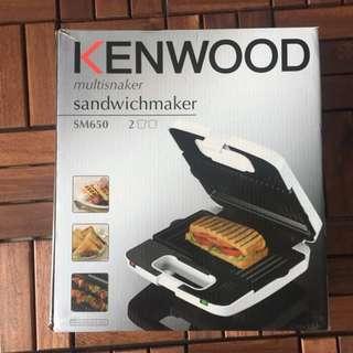 Waffle&Sandwich maker Kenwood