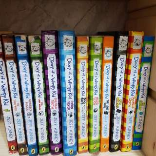All Diary Of A Wimpy Kid books
