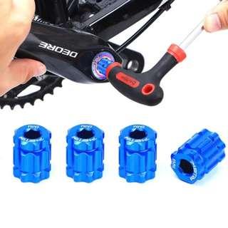 🆕! Crank Arm Installation Tool For Shimano HollowTech Crank Arm XT XTR Bicycle MTB Repair Tools     #OK