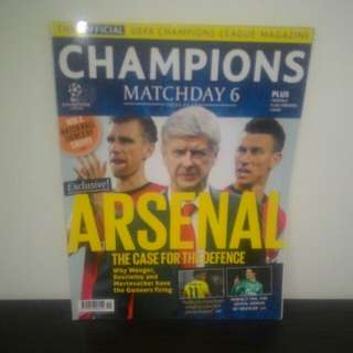 FOOTBALL Champions League Magazine - DEC/JAN 2014