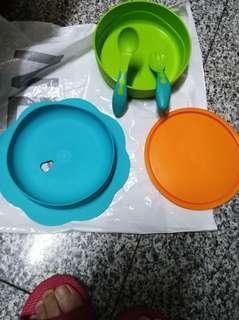 🚚 可吸式碗湯匙叉子組