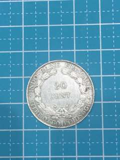 🔥Clearance🔥Indo- Chine Francaise silver Coin 20 Cent Year 1937