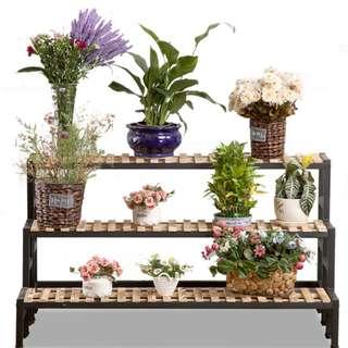 [PROMO] Limited Stock Multiple level Plant rack wood/metal frame!