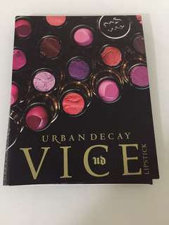 URBAN DECAY vice lipstick 4 colors
