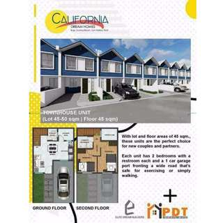 California dream homes pre selling townhouse single attached and commercial unit in san mateo rizal
