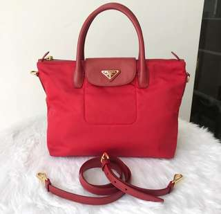 Authentic Prada BN2541 Rosso