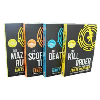 Novel The Maze Runner Series