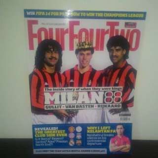 FOOTBALL FourFourTwo Oct 2013