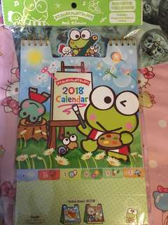 Keroppi calendar 📆