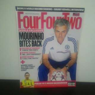 FOOTBALL FourFourTwo Nov 2013
