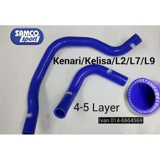 SAMCO Radiator Hose - kenari/kelisa/L7/L9/L2