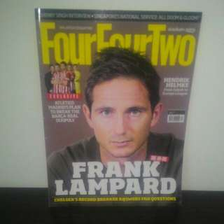 FOOTBALL FourFourTwo Dec 2013