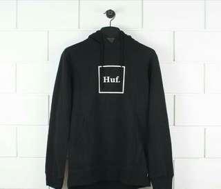 Huf small logo box hoodie black,grey,navy original muraah !!
